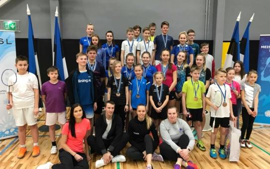 Eesti Noorte Meistrivõistlused 2019