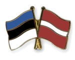 Eesti ja Läti lipud